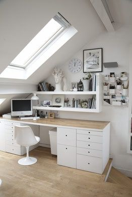 White and wood Ideas