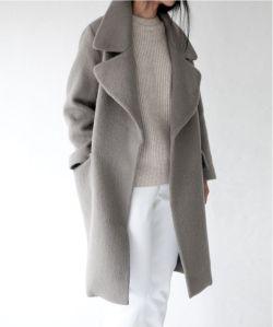 Winter oversized coat